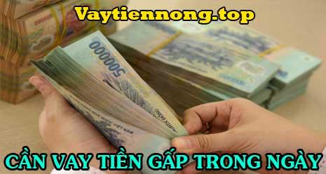 Cần vay tiền gấp trong ngày không giữ giấy tờ